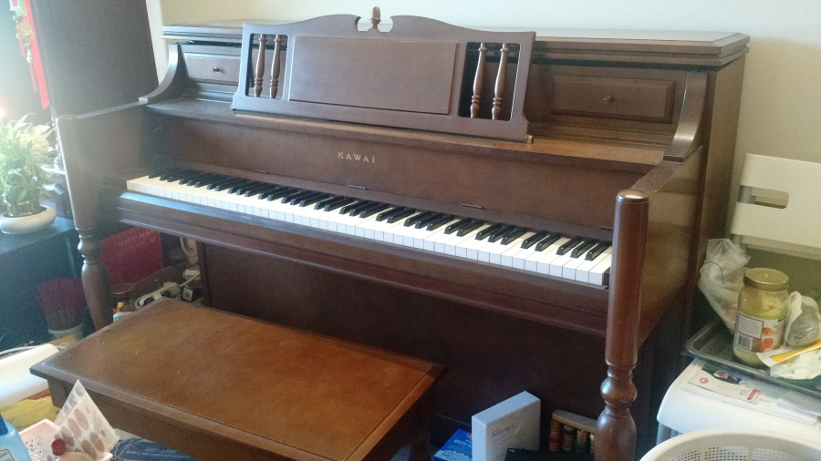 Only 500 for Upright Piano Image 1